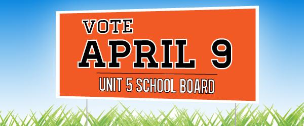 School Board Election: April 9, 2013