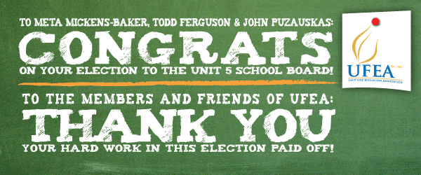 School Board Campaign Wrap-Up: Congrats and Thank You!