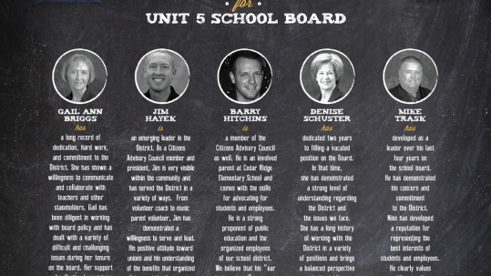 unitfiveschoolboard-2015-recommended