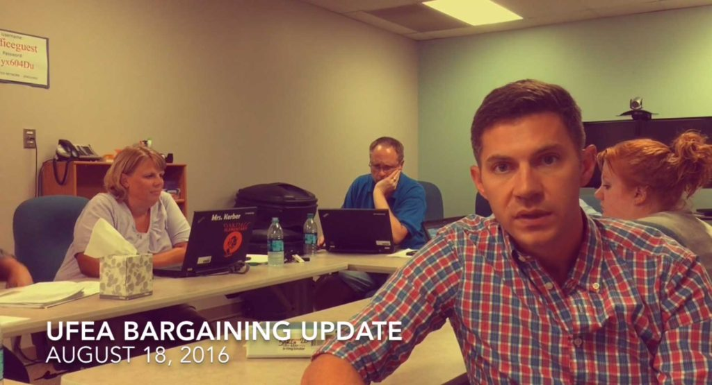 UFEA Bargaining Update: August 18, 2016