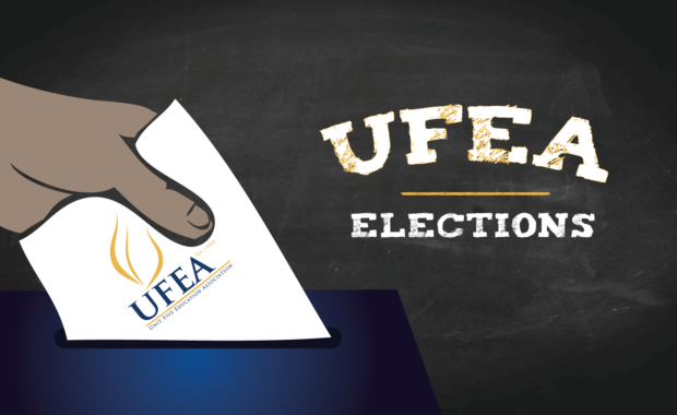 Protected: UFEA Elections: President, Vice President, Treasurer (contested), NEA-RA