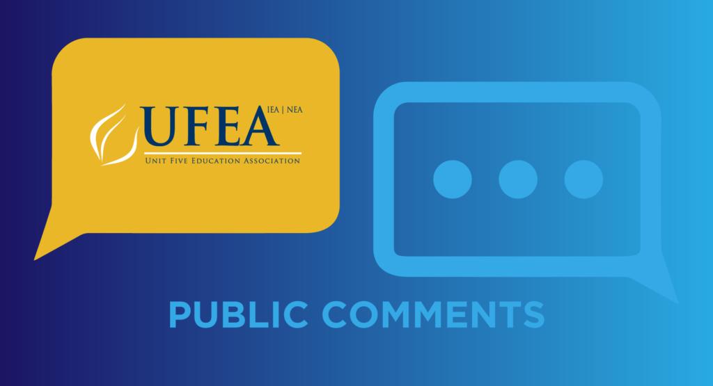 Public Comments: November 14, 2018
